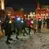 Alexei Navalny Supporters Gather For Valentine's Day Vigils