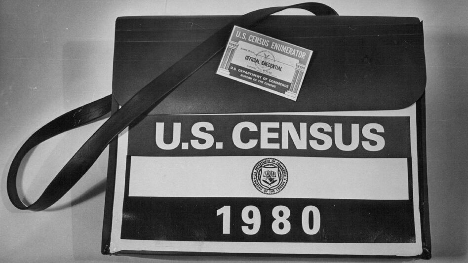 """Weeks before the 1980 census officially began, the Federation for American Immigration Reform launched its campaign to exclude unauthorized immigrants from population counts that, according to the Constitution, must include the """"whole number of persons in each state."""" (Ernie Leyba/The Denver Post via Getty Images)"""