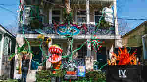 In A Year Without Parades, Mardi Gras In New Orleans Is All About House Floats