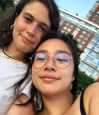 Emma Fritschel and Evelyn Wang, friends since freshman year, had to navigate a completely virtual friendship for the first time due to the pandemic.