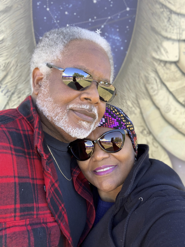 """James McIntyre and his wife Carol in 2017. James was 70 when he died of COVID on July 20, 2020, in Pensacola, Fla. """"I refuse to attach him to a number,"""" Carol says. They were married for 36 years."""