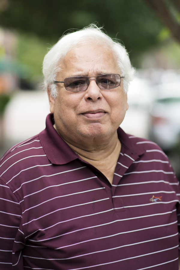 """Shafqat Khan was an organizer in the Pakistani immigrant community in New Jersey. He died of COVID on April 14, 2020. """"Every day is a milestone for me,"""" says his daughter Sabila Khan."""