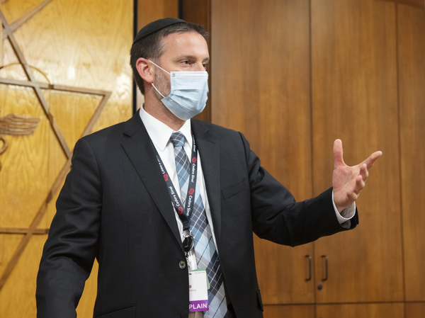 Rabbi Jason Weiner says chaplains' jobs have become more complex during the pandemic.