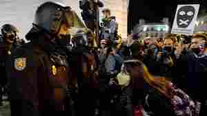 Protests Continue In Spain Against Jailing Of Rapper Over Tweets