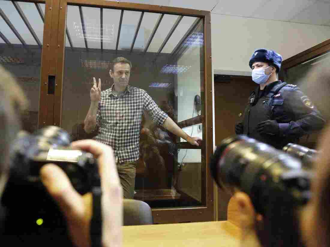 Alexei Navalny found guilty of 'defaming' Russian veteran