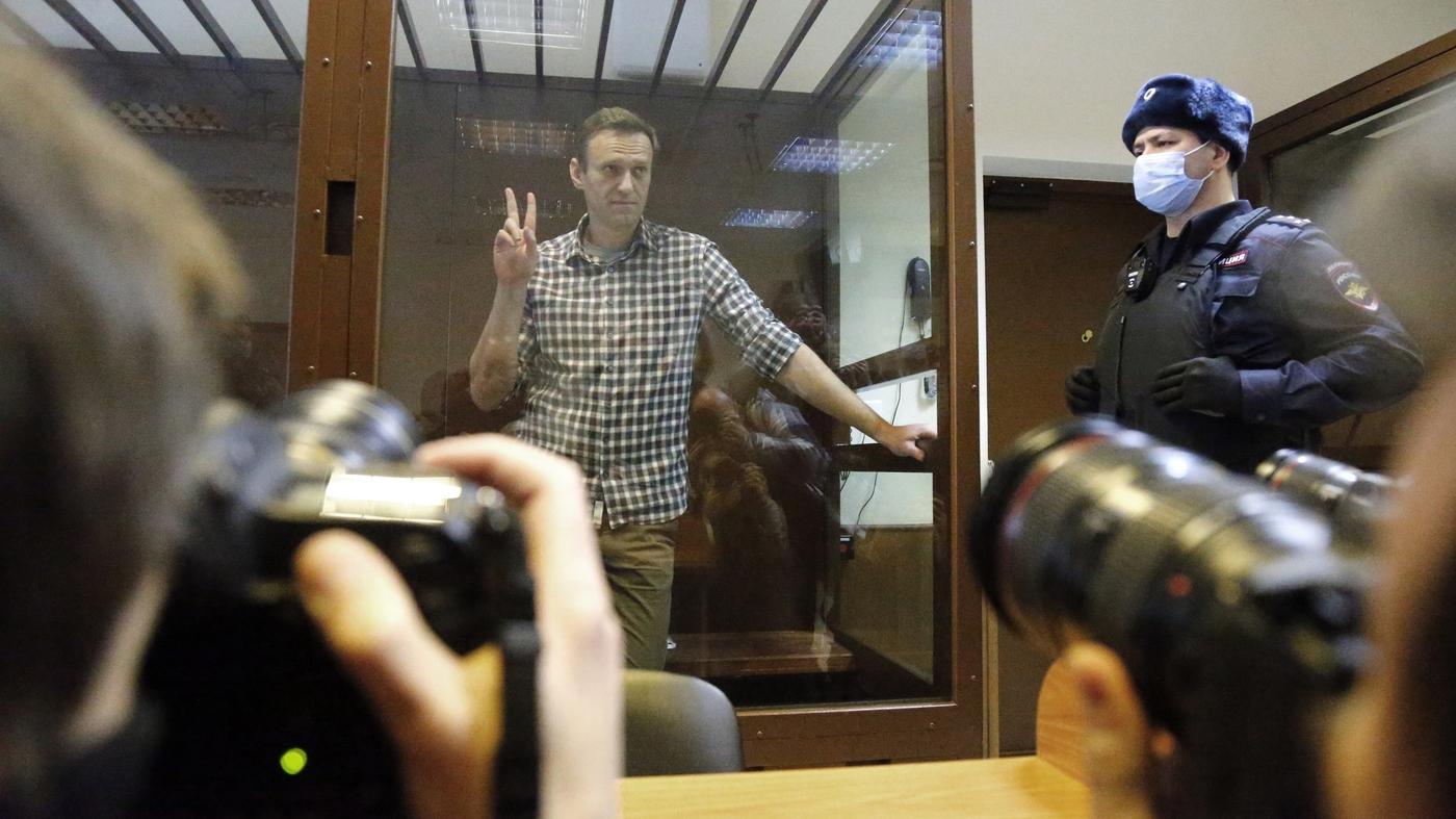 Russian Court Denies Appeal Of Jailed Kremlin Critic Alexei Navalny - NPR