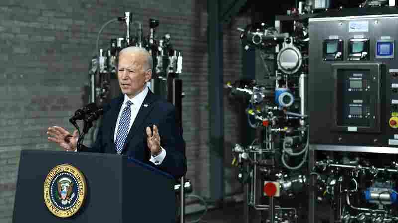 Biden's Agenda To Come Into Sharper Focus, Even As Trump Plots His Comeback