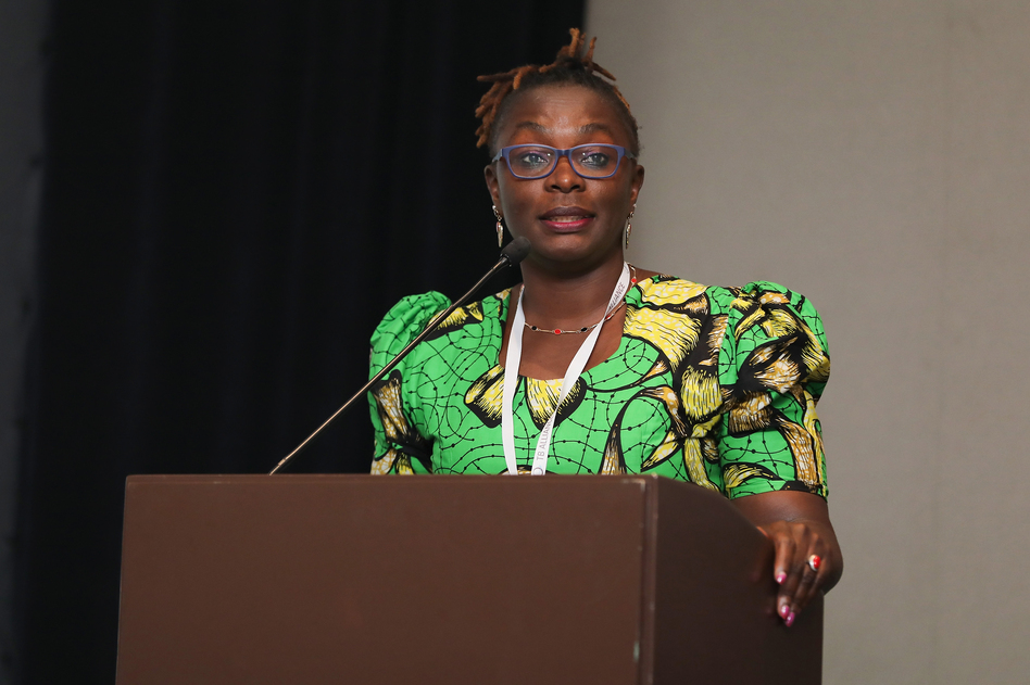 As a young woman, pregnant and HIV-positive, Maurine Murenga did not have easy access to drugs that could save her life. Today she is an activist for equitable health-care. The global distribution of coronavirus vaccines is an issue of concern. (Victor Chavez/Getty Images)