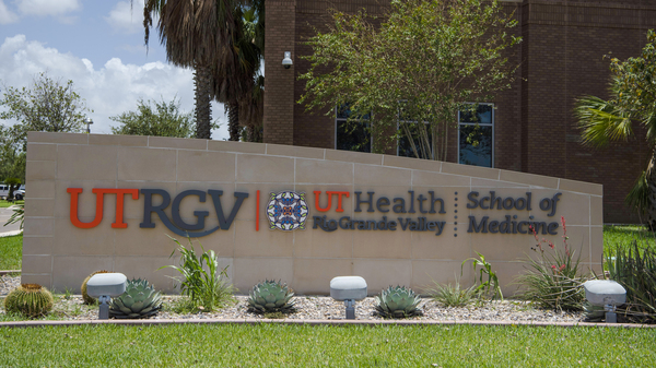 The University of Texas Rio Grande Valley School of Medicine in Edinburg, Texas, last year. The Rio Grande Valley, a four-county region that stretches across Texas