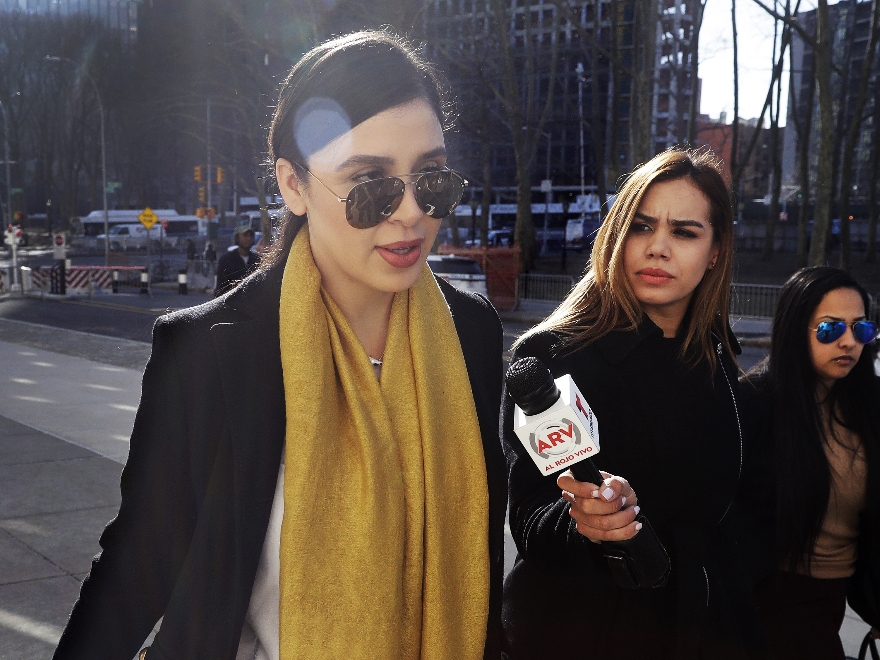 Wife Of 'El Chapo' Arrested In U.S. On Drug Charges : NPR