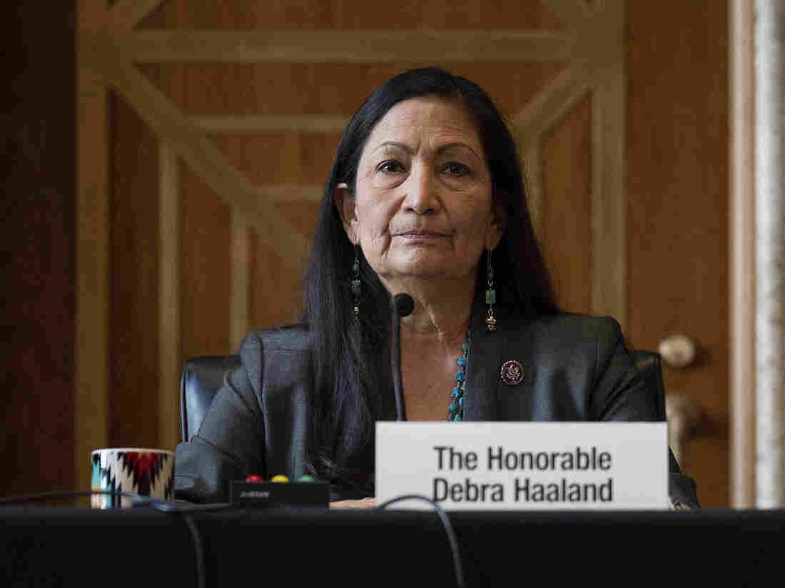 Interior nominee Deb Haaland vows 'balance' on energy and climate