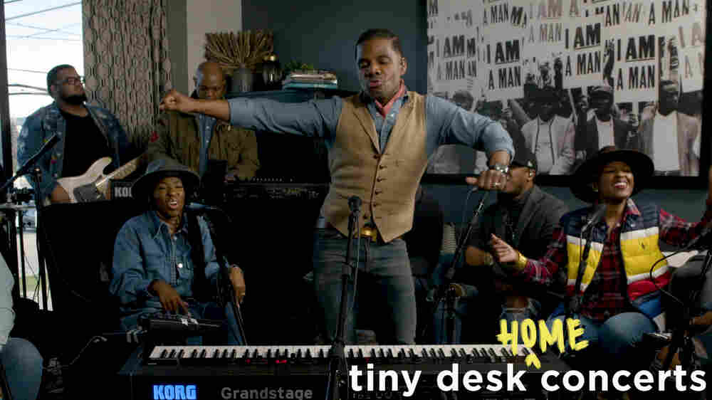 Kirk Franklin: Tiny Desk (Home) Concert