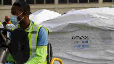 Ghana Becomes First Country To Get COVAX Vaccine Doses