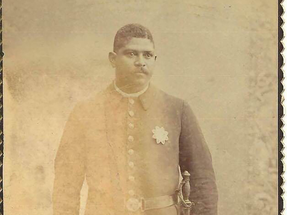 Robert Stewart was one of the first Black officers hired by LAPD. He was terminated in 1900 and on Tuesday the Los Angeles Police Commission unanimously voted to have him reinstated to retire with honor. (LAPD handout)