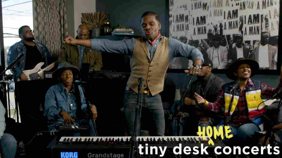Kirk Franklin: Tiny Desk (Home) Concert