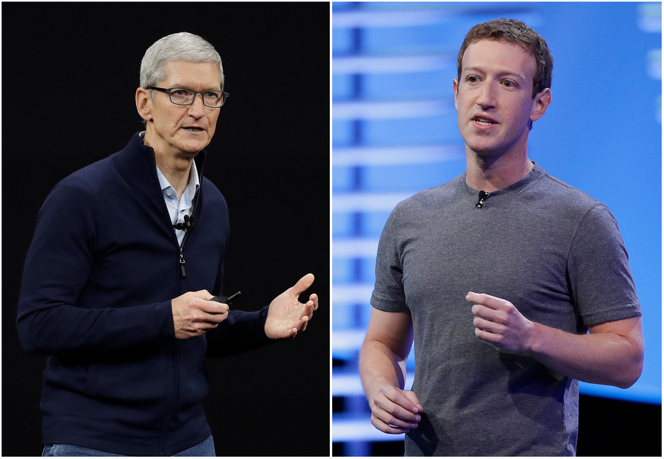 Facebook is pushing back on new Apple privacy rules for its mobile devices, this time saying the social media giant is standing up for small businesses in television and radio advertisements and full page newspaper ads. (Eric Risberg/AP)