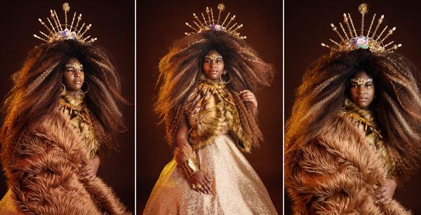 Fairytale Lion: Jhene Santana Brown