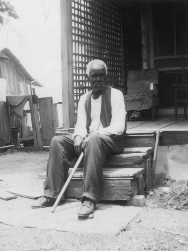 "Former slave Felix Haywood, 92 years old when he was photographed in San Antonio in 1937, told an interviewer, ""All we had to do was to walk, but walk south, and we'd be free as soon as we crossed the Rio Grande."""