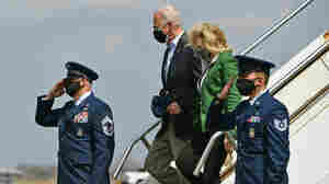 Biden Arrives In Houston To Check On Recovery From Deadly Winter Storms