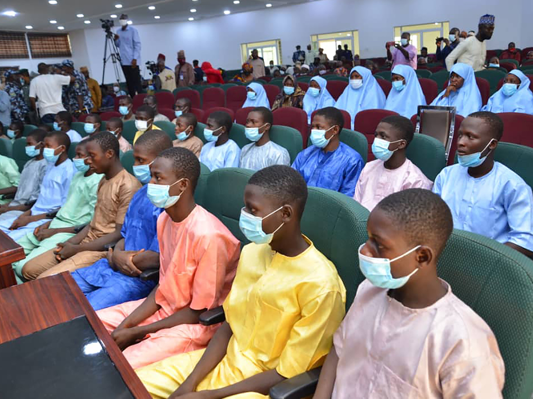 , [:en]After Extra Than A Week, Dozens Of Kidnapped Nigerian College students Have Been Rescued : NPR[:], Laban Juan