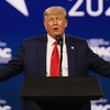 Trump Keeps Up Conspiracies, Blasts Biden And GOP Foes In 1st Post-Presidency Speech