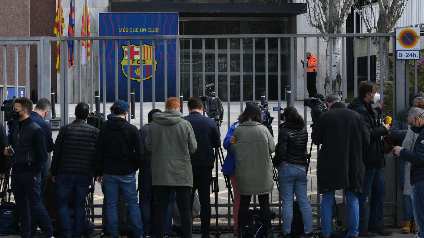 FC Barcelona: Police Raid Stadium In Financial Crimes Investigation - NPR
