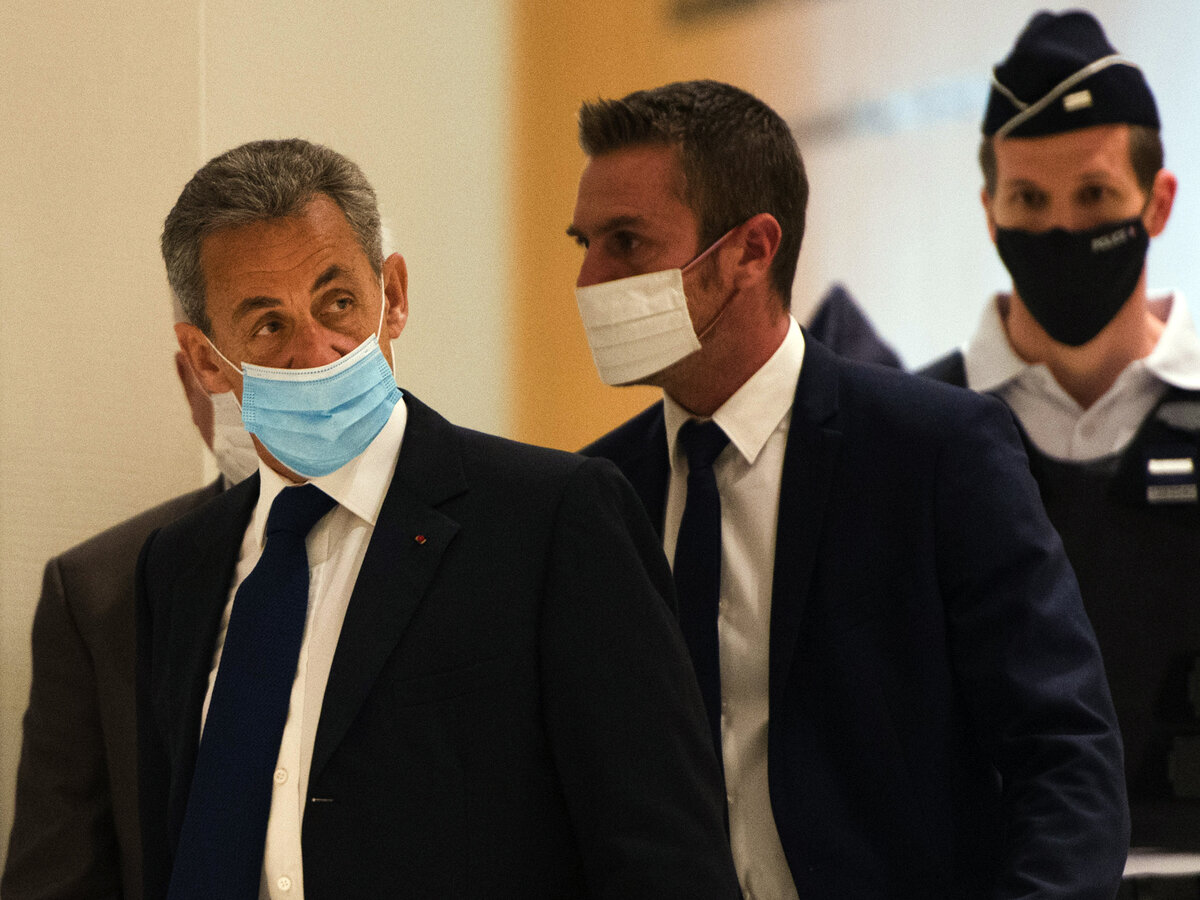 Formere French president Sarkozy found guilty