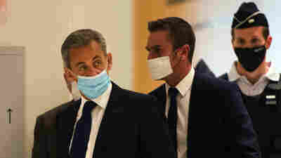 Former French President Nicolas Sarkozy Found Guilty Of Corruption