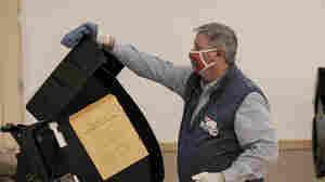 Trump's Baseless 2020 Conspiracies Complicate Ohio Effort To Buy Voting Machines