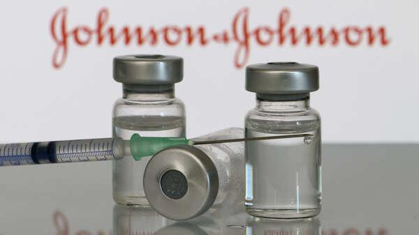 A White House official tells NPR that pharmaceutical giant Merck will help manufacture Johnson & Johnson