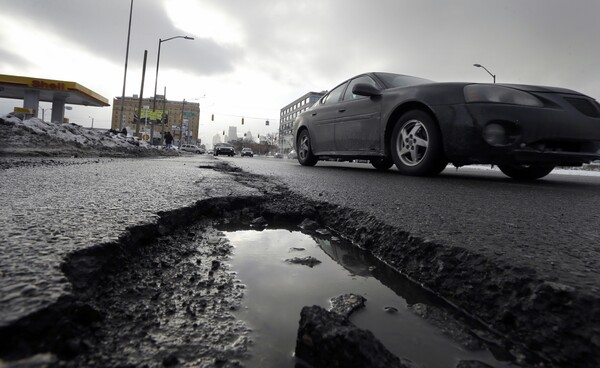 The American Society of Civil Engineers gives the nation's infrastructure a grade of C-minus on it's quadrennial infrastructure report card. Many of the country's roads, bridges, airports, dams, levees and water systems are aging and in poor to mediocre condition.