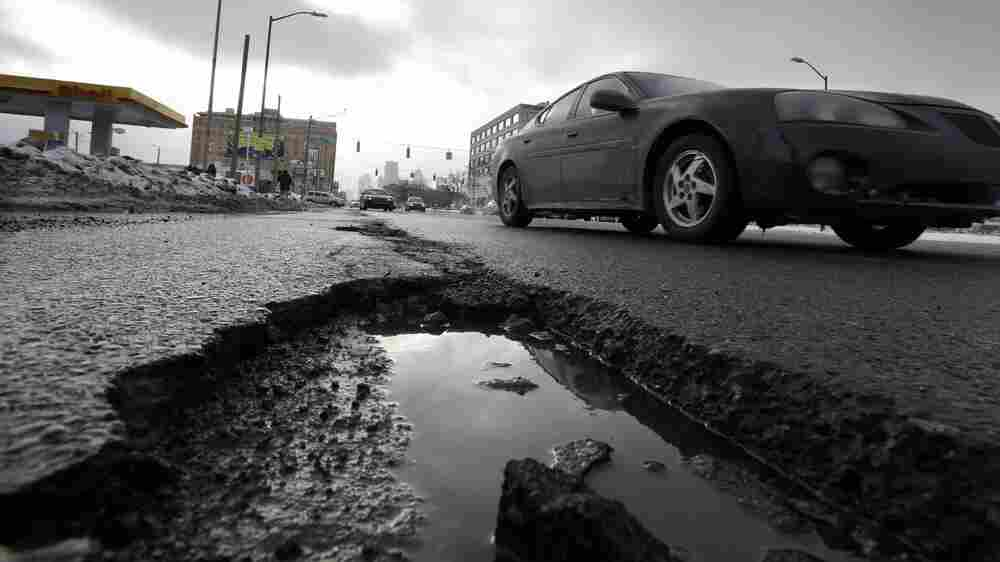 Potholes, Grid Failures, Aging Tunnels And Bridges: Infrastructure Gets A C-Minus