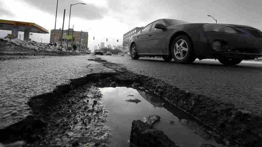 Potholes, Grid Failures, Aging Tunnels And Bridges: Nation's Infrastructure Gets A C-