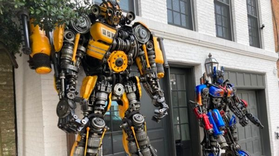 Optimus Prime Faces A New And Unexpected Foe: Georgetown's Historic District