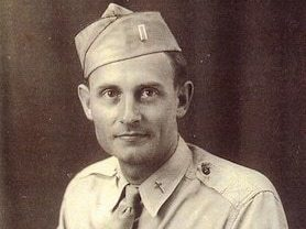 Then 2nd Lt. Emil Kapaun, U.S. Army chaplain, circa 1943.