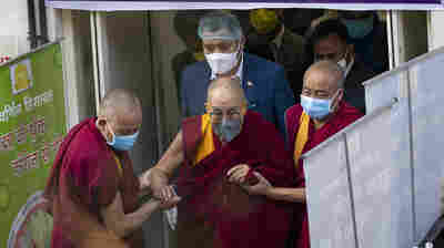 The Dalai Lama Gets A COVID-19 Shot And Urges Others To Get Vaccinated