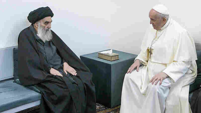Pope Holds Historic Meeting With Iraq's Top Shiite Cleric, Preaches Message Of Unity
