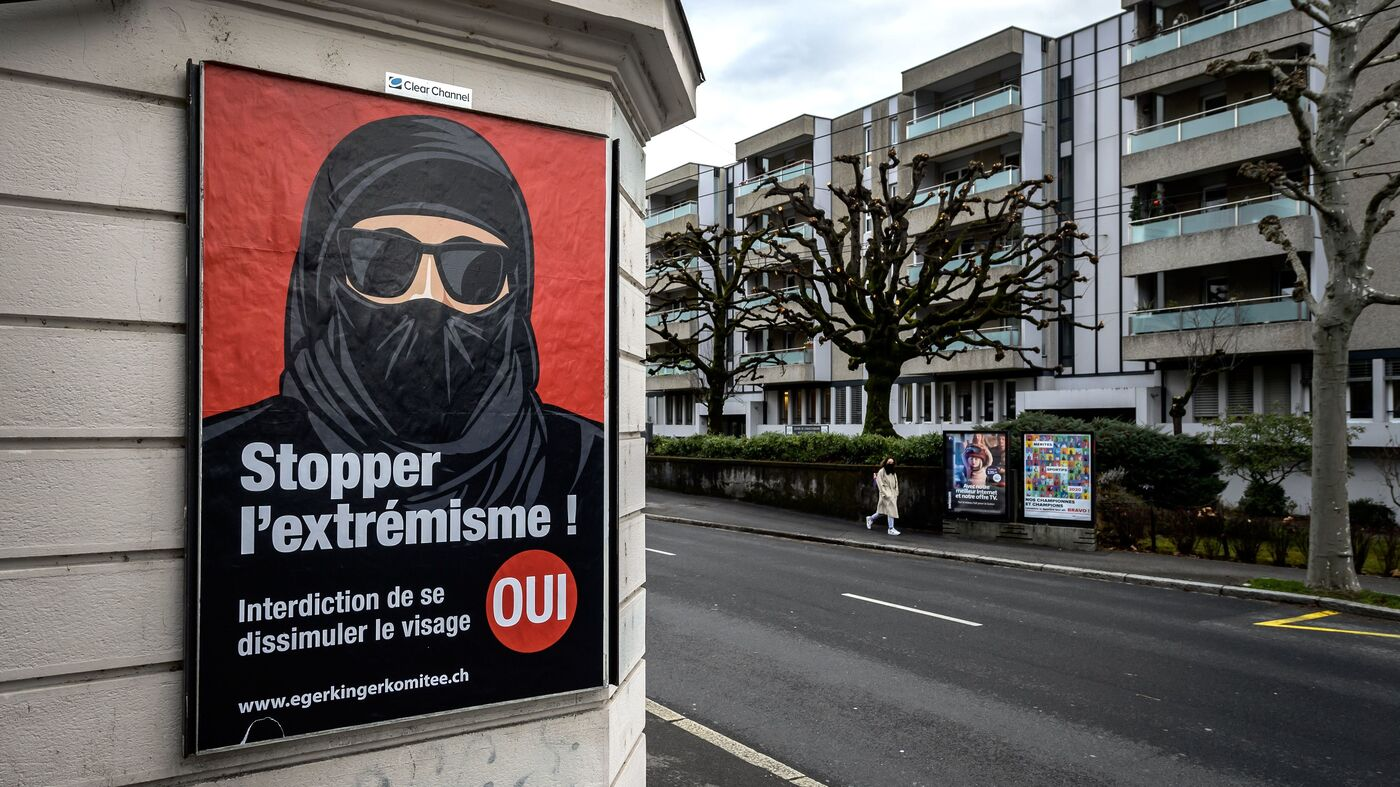 Switzerland Approves Ban On Face Coverings In Public - NPR