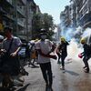 Violence Continues In Myanmar As Police Enforce Curfew And Occupy Hospitals