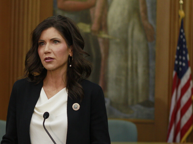 South Dakota Gov. Kristi Noem to Sign Bill Banning Biologically Male Trasngender Athletes from Competing in Girls' and Women's Sports