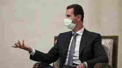 Syria's Bashar Assad And His Wife Test Positive For Coronavirus
