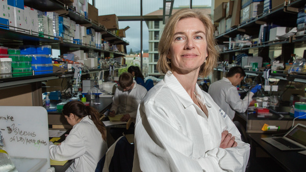 Biochemist Jennifer Doudna, the subject of Walter Isaacson's new biography The Code Breaker, shared a Nobel prize in chemistry in 2020 for the part she played in developing the CRISPR gene editing technology.