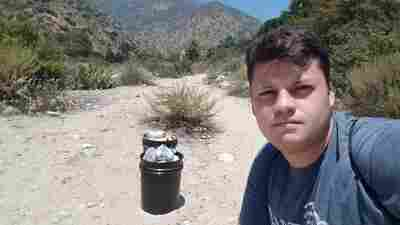 Climate Activist Spends 589 Days And Counting Picking Up Litter In Calif. Park