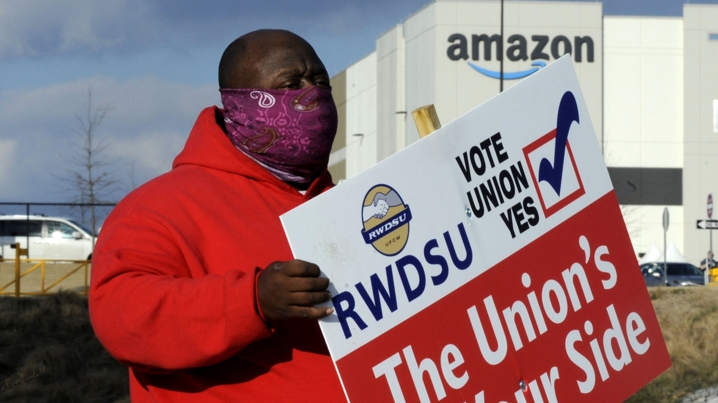 www.npr.org: High Stakes At A Warehouse: Amazon Fights Against Alabama Union Drive