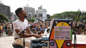 Fresh Air Weekend: Musician Jon Batiste; Magician Derek DelGaudio