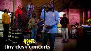 Xavier Omär: Tiny Desk (Home) Concert