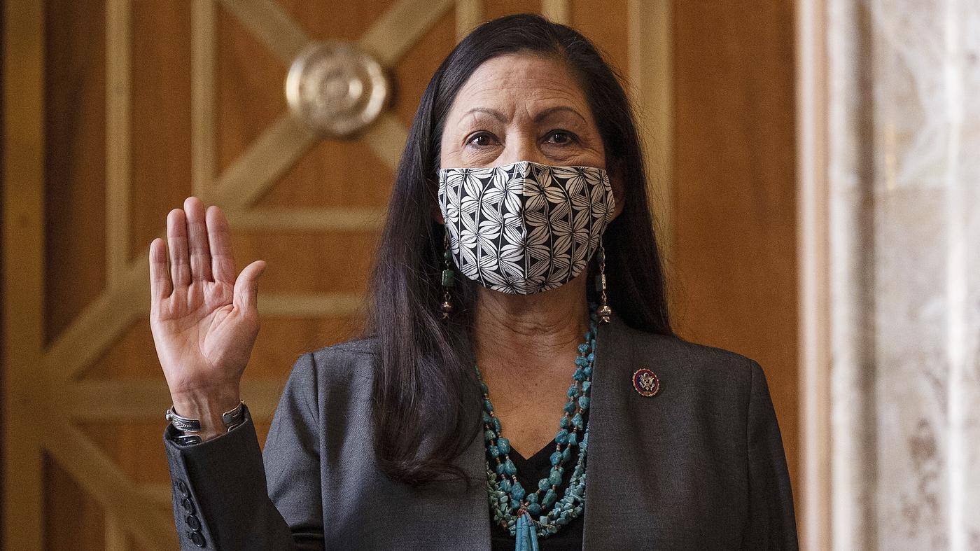 Deb Haaland Confirmed As 1st Native American Interior Secretary – NPR
