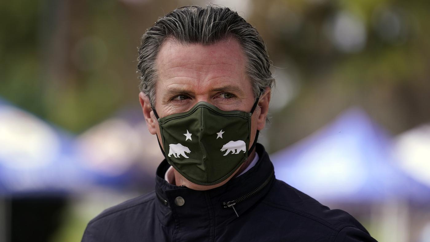 California Gov. Newsom Says He Won't Take Recall 'Lying Down' – NPR