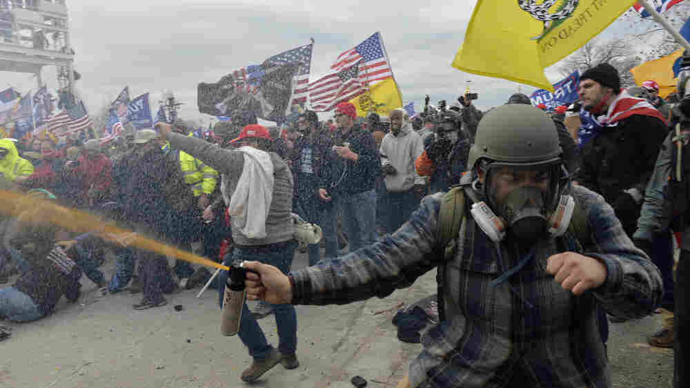 Yes, Capitol Rioters Were Armed. Here Are The Weapons Prosecutors Say They Used