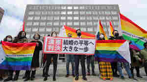 In Landmark Ruling, Court Says Japan's Ban On Same-Sex Marriage Is Unconstitutional